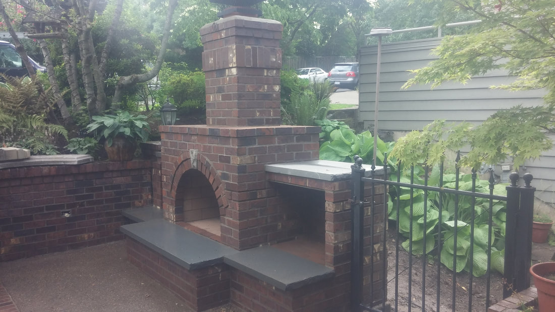 Outdoor Fireplaces Rose City Masonry